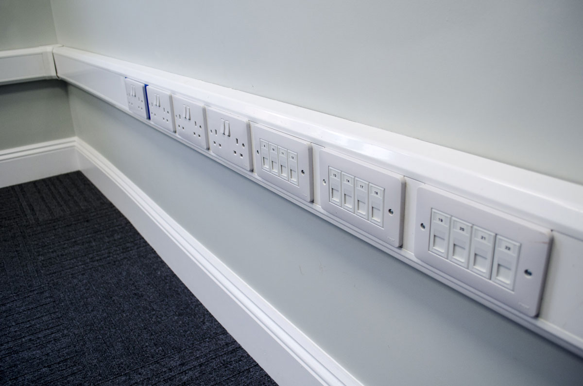 New Patricks Yard multiple sockets - Norwich office space